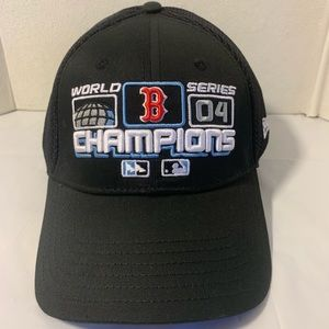 Boston Red Sox 2004 World Series Champions Hat